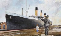 TITANIC by Gavin Fitzsimons at Ross's Auctions