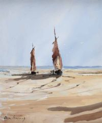 PREPARING TO SAIL by Alan Beers at Ross's Auctions