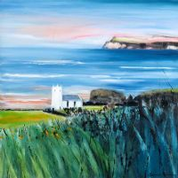 BALLINTOY CHURCH, CO. ANTRIM by Martina McLaughlin at Ross's Auctions