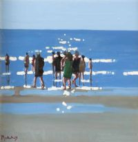 A SUMMER'S DAY by John Morris at Ross's Auctions
