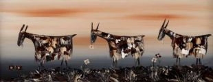 THE TRAVELLERS by Michael Smyth at Ross's Auctions