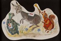 THE TORTOISE & THE HARE by Rowel Friers HRUA at Ross's Auctions