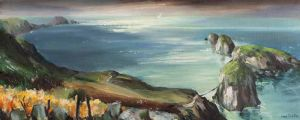 CARRICK-A-REDE ROPE BRIDGE by Anne Tallentire at Ross's Auctions