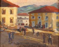 STREET DANCE by Marjorie Henry RUA at Ross's Auctions