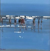 BLUE WATER, INCH BEACH by John Morris at Ross's Auctions