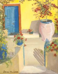 GREEK GARDEN by Steven Meredith at Ross's Auctions