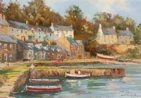 THE QUAY, STRANGFORD VILLAGE by Colin Gibson at Ross's Auctions