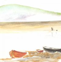 FISHING BOATS by Tom Day at Ross's Auctions