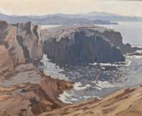 NEAR DUNFANAGHY by Gerald J.A. Carson at Ross's Auctions