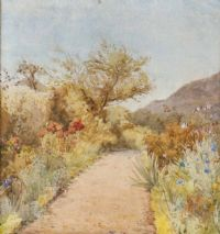 A GARDEN PATH by Helen Colville at Ross's Auctions