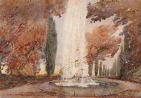 THE FOUNTAIN by James Stanley Prosser RUA at Ross's Auctions