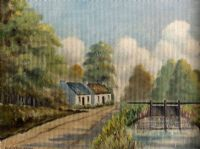ON THE LAGAN by David Livingston at Ross's Auctions