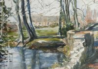 RATHMORE BURN, DUNADRY by Coralie de Burgh Kinahan at Ross's Auctions