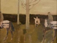 Lot 84 by Basil Blackshaw HRHA HRUA at Ross's Auctions