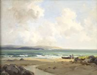 Lot 110 by Frank McKelvey RHA RUA at Ross's Auctions