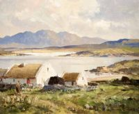 Lot 145 by Maurice Canning  Wilks ARHA RUA at Ross's Auctions