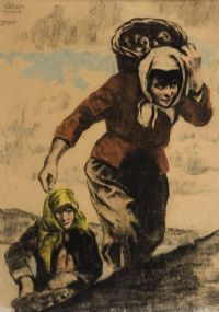 Lot 57 by William Conor RHA RUA at Ross's Auctions