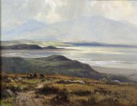 Lot 225 by Frank McKelvey RHA RUA at Ross's Auctions