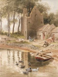 Lot 73 by Joseph William  Carey RUA at Ross's Auctions
