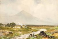 Lot 86 by William Bingham McGuinness RHA at Ross's Auctions