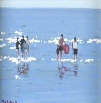 BRITTAS BAY by John Morris at Ross's Auctions