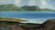 ROAD TO THE ISLES, DONEGAL by David Alexander at Ross's Auctions