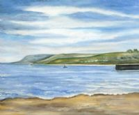 THE ANTRIM COAST by Marion Collett at Ross's Auctions