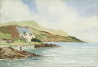 THE ANTRIM COAST, CARNLOUGH by George D. Livingston at Ross's Auctions