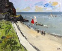 THE BEACH by Rachel Grainger Hunt at Ross's Auctions