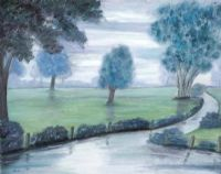 MISTY MORNING by Marion Collett at Ross's Auctions