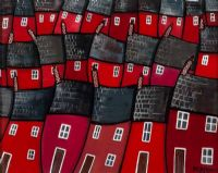 RED HOMES by Paul Bursnall at Ross's Auctions