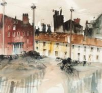 TERRACE HOUSES by Sue Howells at Ross's Auctions