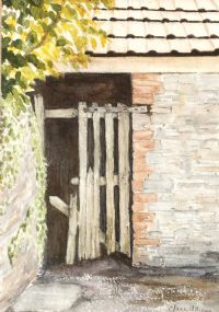 BROKEN GATEWAY by Clare Allison at Ross's Auctions