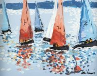 KILLYLEAGH SAILING CLUB by Alan Beers at Ross's Auctions