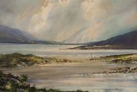 LAKE CONNEMARA by R. Baldwin at Ross's Auctions