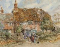 COUNTRY COTTAGE by 20th Century English School at Ross's Auctions