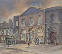 THE BUS SHELTER by B. McCormack at Ross's Auctions