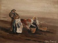 POTATO PICKERS by Alan Beers at Ross's Auctions