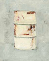 OIL DRUM by Cherith McKinstry RUA at Ross's Auctions