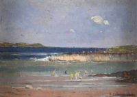 GROOMSPORT by Henry Echlin Neill RUA at Ross's Auctions