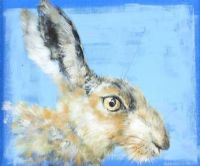 HARE STUDY by Sylvia Parkinson Brown at Ross's Auctions