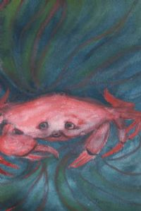 CRAB DAYDREAMS by Jenny Stoupe at Ross's Auctions