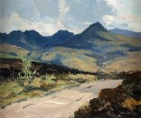 GOAT FELL, ISLE OF ARRAN by Gerald J.A. Carson at Ross's Auctions