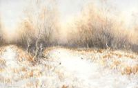 PHEASANTS IN WINTER by David Livingston at Ross's Auctions