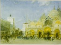 VENICE by Sir William Russell Flint RA at Ross's Auctions