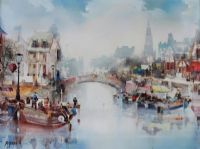 AMSTERDAM by Jose Aquillar at Ross's Auctions
