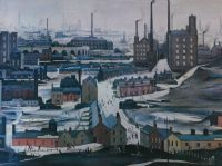 CITYSCAPE by Laurence Stephen Lowry RA at Ross's Auctions