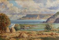 GARRON POINT FROM CUSHENDUN by William Kenny at Ross's Auctions
