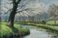 SPRING AT EDENDERRY by Francis J. Neill ARUA at Ross's Auctions