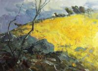 THE YELLOW RIDGE by Rachel Grainger Hunt at Ross's Auctions